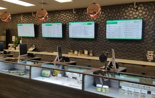 Dispensary Automated Menus